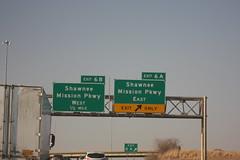 52989 (richiekennedy56) Tags: usa unitedstates kansas zarah shawneemission i435 johnsoncountyks hwysigns