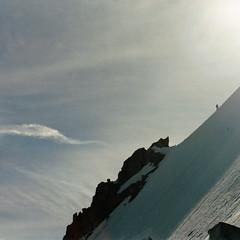 L'alpiniste (Yvan LEMEUR) Tags: mountain france montagne alpes glacier neige chamonix glace alpinisme hautesavoie hautemontagne petiteverte