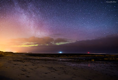 Clouded Out - Aurora Borealis, Beadnell, Northumberland
