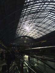 St. Pancras (mccannmitchell) Tags: england london eurostar trainstation stpancras glassroof