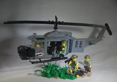 Huey: Main (LoganLego) Tags: america paint lego painted military helmet vietnam huey helicopter viet american mitchel m16 brody helmets freeform vietcong m60 brickarms helmetstrap legomodern legovietnam citizenbrick camolego