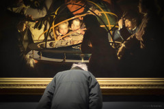 Honouring the Orrery (RichardK2010) Tags: museum candid derby nikkor50mmf14d josephwright theorrery d7100