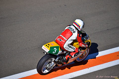Carlos Lavado  con su Yamaha 250