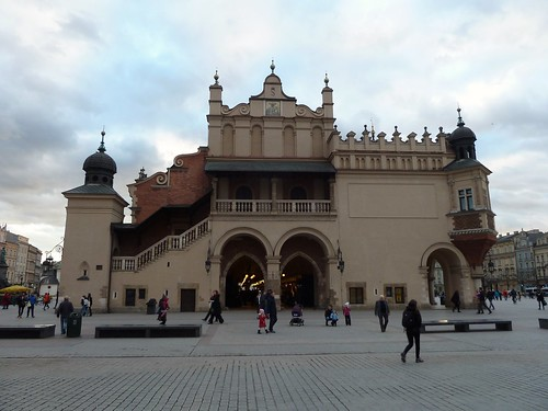 The Cloth Hall Main Square Krakow Poland