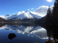 Ved vatnet -|- By the lake (erlingsi) Tags: winter lake reflection europe oc scandinavia vann sn sunnmre rsta speiling norwaysnow rstakommune vatnevatn