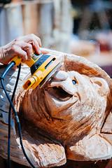 LoggerRodeo 2015 (rpkarsen) Tags: usa tractor washington hometown flag echo documentary chainsaw logging carving parade american rodeo logger pnw journalist lumber johndeere stihl dewalt woolley sedrowoolley sedro