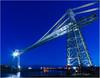 Transporter Bridge, Newport (candicemorganphotography) Tags: bridge industrial newport bluehour transporterbridge sigma1224mmf4556 sonyalpha850 candicemorgan