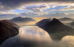 Magic light... (Alex Switzerland) Tags: sunset canon landscape eos schweiz switzerland ticino suisse svizzera lugano paesaggio 6d luganese ceresio luganersee