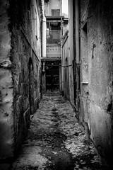 Sassari (ambrogio_mura) Tags: old bw white black contrast high nikon centro deep bn e sassari bianco nero vecchio prospettiva storico 1870 prospective degrado d7100