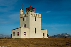 Lighthouse in Dyrhlaey (holger.torp) Tags: lighthouse building tower architecture outdoor viti dyrhlaey