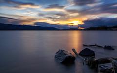 Lake Konstanz sunset (Sebo23) Tags: sonnenuntergang bodensee langzeitbelichtung longtimeexposure radolfzell graufilter canon6d canon24704l