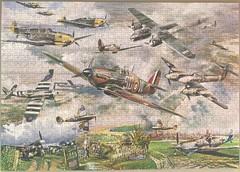 Battle of Britain (touring_fishman) Tags: saw britain wwii battle jig gibsons ww2 jigsaw piece 1000 battleofbritain gibbsons