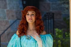 Ariel (EatThisLight) Tags: california ariel princess little disneyland disney parade characters mermaid anaheim disneylandcharactersdisneyparade