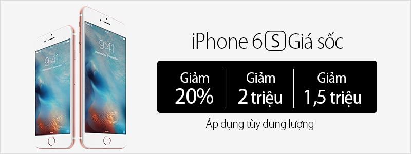 iPhone 6s giảm sốc cuối tuần. Bạn đã biết tin này chưa?