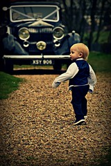 The boy and the roller (Steve.T.) Tags: wedding boy cute kid nikon toddler classiccar vintagecar rollsroyce roller cutekid youngman nohands bigclothes youngboy weddingphotography youngkid d7200
