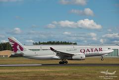 Qatar Cargo - A7-AFZ - A330-200F (Aviation & Maritime) Tags: norway airbus a330 osl gardermoen qatar freighter engm qatarairways oslolufthavngardermoen cargoplane airbus330 osloairport osloairportgardermoen qatarcargo a330200f a7afz airbus330200f