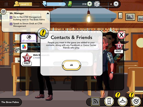 Kim Kardashian: Hollywood Social: screenshots, UI