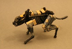 Ocelot (Dryvvall) Tags: cat robot walker organic synthetic mech drone