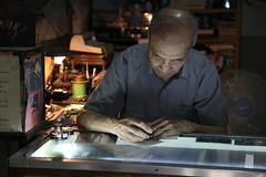 IMG_1602 Zhang Guangyi, le dernier rparateur de stylos  Pkin (Jordan Pouille JOURNALIST) Tags: china pen beijing pens chine craftsmanship pkin