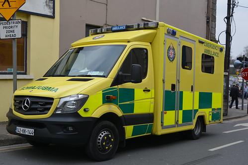 National Ambulance Service 2014 Mercedes Benz 519-36