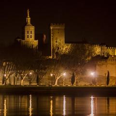 Avignon la nuit (jemazzia) Tags: rhne palais avignon extrieur nuit ville