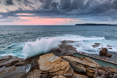 Splash (FPL_2015) Tags: ocean sunset seascape water landscape rocks waves sydney australia splash northernbeaches northcurlcurl leefilter canon6d gnd09 canon1635f4lis
