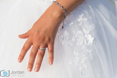 The ring (grimaux.jordan) Tags: wedding white detail up hand close dress ring precious wife mariage