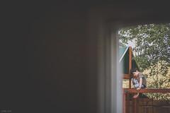 I'm just exploring (Daniel A Ruiz) Tags: park door wood trees boy portrait leaves wall composition kid nikon df outdoor exploring 14 indoor frame gaze 58mm