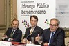Inauguración programa Liderazgo Público Iberoamericano