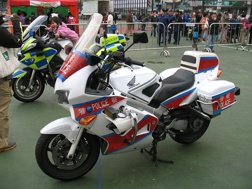 Honda VFR800P Police Motorcycle(Traffic)
