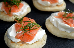 Salmon Blinis (Tony Worrall) Tags: uk england food make dill menu yummy nice dish photos tag cook tasty plate eaten things images x made eat foodporn add meal taste dishes cooked tasted starters grub iatethis foodie flavour plated foodpictures ingrediants picturesoffood photograff foodophile ©2016tonyworrall