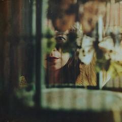 the keeper (Ana Lusa Pinto [Luminous Photography]) Tags: selfportrait green girl yellow self butterfly fineart conceptual selfportraitartist luminousphotography luminouslu analusapinto analuisapinto fineartselfportrait