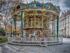 Lonely Merry Go Round (jmgabi) Tags: madrid espaa europa es tiovivo comunidaddemadrid plazadeoriente