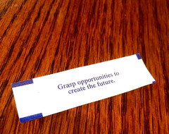 Good Fortune! (MilitaryFashionShow) Tags: creativity fortunecookie chinese fortune future create wisdom fortunetelling goodluck grasp