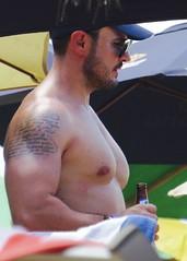 IMG_0833 (danimaniacs) Tags: shirtless man sexy guy tattoo beard mexico muscle muscular hunk puertovallarta stud scruff