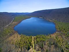 Labrador Hollow Unique Area (Matt Champlin) Tags: history beautiful iceage landscape spring hiking air sunny aerial aerialphotography springtime drones drone phantom3 dji labradorhollow labhollow djiphantom3