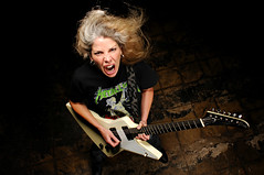 Marynell Hardin (Studio d'Xavier) Tags: portrait musician rockroll guitarist strobist marynellhardin