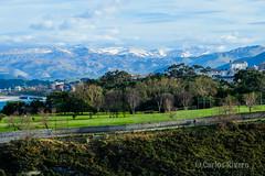 Cordillera Cantbrica desde Mataleas, Santander. (Airbeluga) Tags: espaa paisajes naturaleza nature santander cantabria farocabomayor cabomayor marcantbrico ensenadademataleas