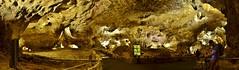 Big Room Panorama (evanlochem) Tags: park new city america underground mexico hiking united trail national cave whites states carlsbad stalagmite caverns stalactite