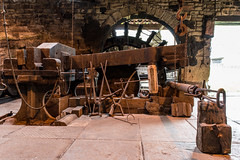 DSC_0035 (lattelover56) Tags: history museum iron indoor forge ironforge wortley historicsite waterpower workingmuseum wortleytopforge