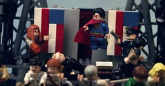 Election Day: Part 3 (Andrew Cookston) Tags: usa macro comics photography dc lego president superman minifig dccomics custom loislane lexluthor thedailyplanet jimmyolsen vandalsavage andrewcookston