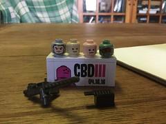 Finally!!!!!!!! (Charlie Ropesocks) Tags: 3 brick day cb brickarms citezen
