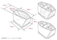 Kenko Interceptor Tote Bag inside (sgear.gallery) Tags: bag tote interceptor kenko