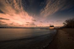 Cherry Beach Sunrise (QC Doc) Tags: lake toronto beach water sunrise lakeshore cherrybeach