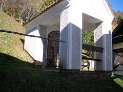 20111031Oberzeiring Kavarienberg (rerednaw_at) Tags: steiermark christus kapelle durchgang oberzeiring kavarienberg