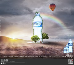 Poster Masafi Water (Shoot Idea) Tags: water advertising poster design uae masafi shootidea