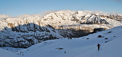 Gloaming (Alpine Light & Structure) Tags: italien italy alps alpes italia skitour granparadiso