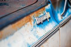 Cheyenne 20 - rusty detail (PaulHoo) Tags: holland detail chevrolet netherlands car nikon rust paint dof bokeh pickup 20 cheyenne lightroom 2016 d700