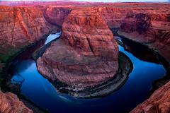 Horseshoe Bend (DylanTakesPhotos) Tags: nature water landscape outside outdoors desert grandcanyon dry