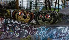HH-Graffiti 2780 (cmdpirx) Tags: street urban color colour art public up wall graffiti nikon mural paint artist space raum kunst hamburg can spray crew owl hh piece farbe bombing throw dose fatcap eule kru eulen ryc d7100 oeffentlicher
